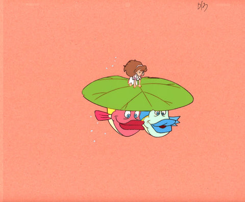 "Original production cel -""Thumbelina""- by Golden Films 036"
