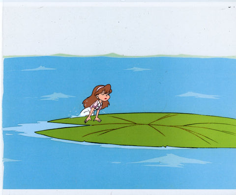 "Original production cel -""Thumbelina""- by Golden Films 073"