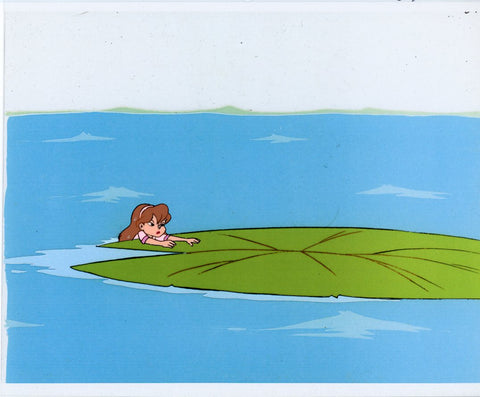 "Original production cel -""Thumbelina""- by Golden Films 081"