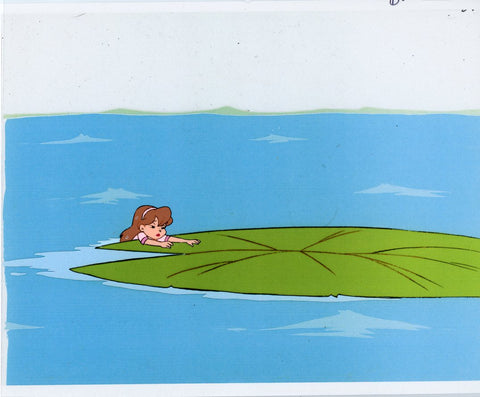 "Original production cel -""Thumbelina""- by Golden Films 082"