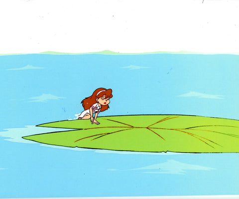 "Original production cel -""Thumbelina""- by Golden Films 086"