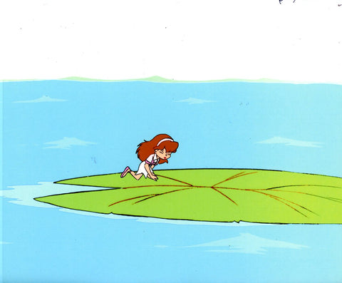 "Original production cel -""Thumbelina""- by Golden Films 091"