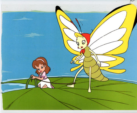 "Original production cel -""Thumbelina""- by Golden Films 092"