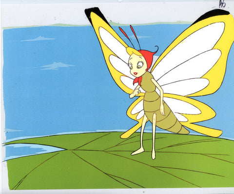 "Original production cel -""Thumbelina""- by Golden Films 096"
