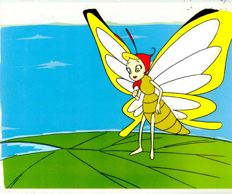 "Original production cel -""Thumbelina""- by Golden Films 098"
