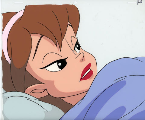 "Original production cel -""Thumbelina""- by Golden Films 116"