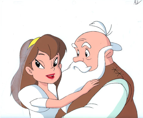 "Original production cel -""Thumbelina""- by Golden Films 138"