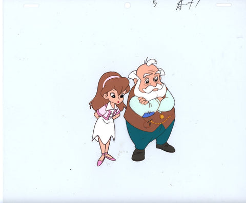 "Original production cel -""Thumbelina""- by Golden Films 140"