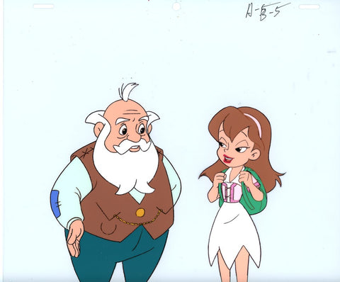 "Original production cel -""Thumbelina""- by Golden Films 144"
