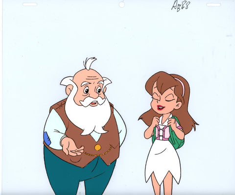 "Original production cel -""Thumbelina""- by Golden Films 145"
