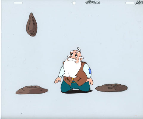 "Original production cel -""Thumbelina""- by Golden Films 146"