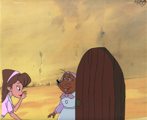 "Original production cel -""Thumbelina""- by Golden Films 164"