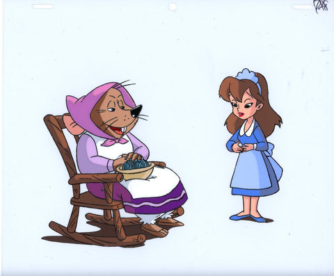 "Original production cel -""Thumbelina""- by Golden Films 165"