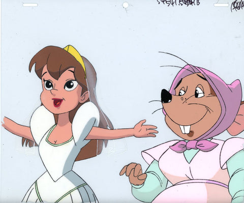 "Original production cel -""Thumbelina""- by Golden Films 169"