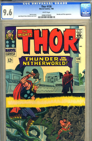 Thor #130   CGC graded 9.6 - white pages - SOLD!