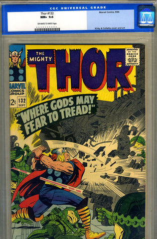 Thor #132   CGC graded 9.6 - SOLD!