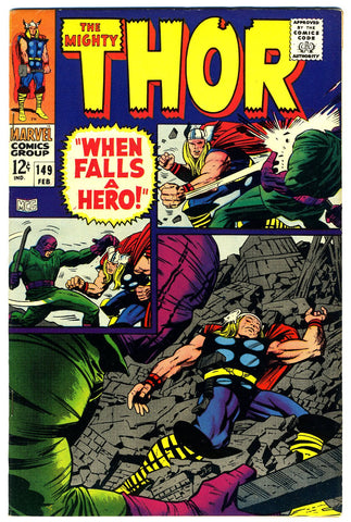 Thor #149  NEAR MINT   1968 - Investment Grade