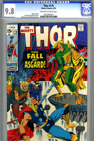Thor #175   CGC graded 9.8  HIGHEST GRADED SOLD!