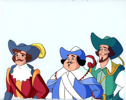 "Original production cel -""Three Musketeers""- by Golden Films 034"