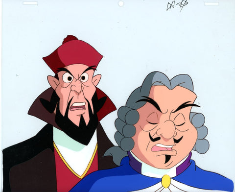 "Original production cel -""Three Musketeers""- by Golden Films 046"