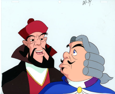 "Original production cel -""Three Musketeers""- by Golden Films 047"