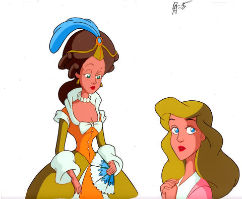 "Original production cel -""Three Musketeers""- by Golden Films 050"