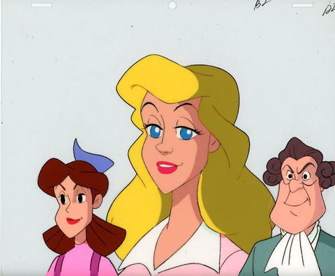 "Original production cel -""Three Musketeers""- by Golden Films 055"