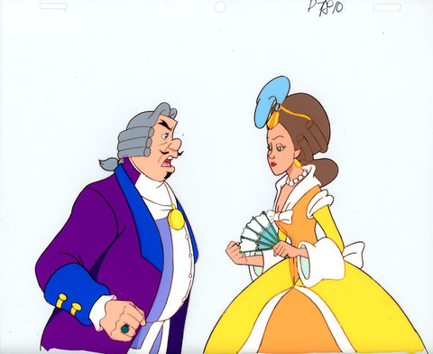 "Original production cel -""Three Musketeers""- by Golden Films 060"
