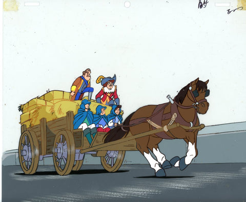 "Original production cel -""Three Musketeers""- by Golden Films 062"