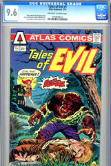 Tales of Evil #1 CGC graded 9.6