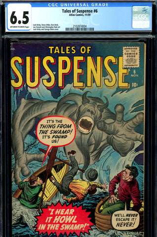 Tales of Suspense #06 CGC graded 6.5 prototype issue - SOLD!