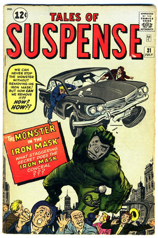 Tales of Suspense  #31   VERY GOOD-   1962