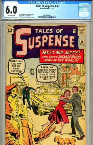 Tales of Suspense  #36 CGC graded 6.0 SOLD!