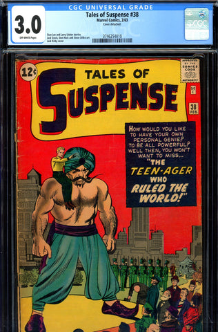 Tales of Suspense #38 CGC 3.0 - last all Sci-Fi issue - SOLD!