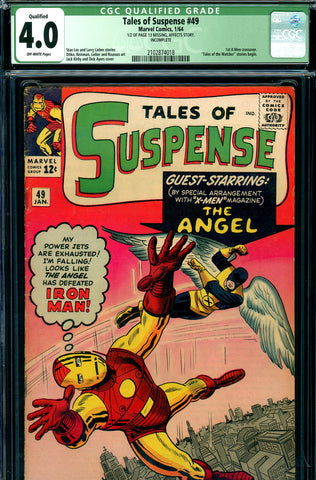 Tales of Suspense #49 CGC 4.0 - first X-Men crossover