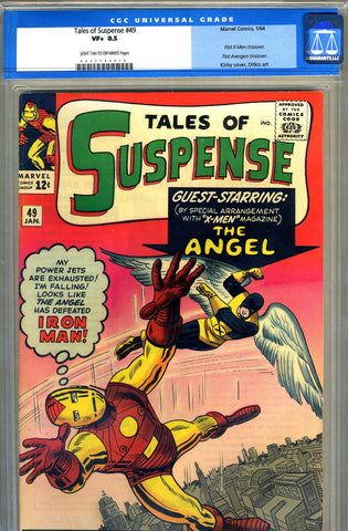 Tales of Suspense #49   CGC graded 8.5 - SOLD