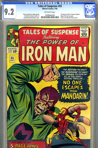 Tales of Suspense #55   CGC graded 9.2 - SOLD!