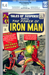 Tales of Suspense #56   CGC graded 9.4  first Unicorn WP