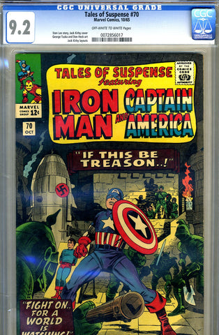 Tales of Suspense #70   CGC graded 9.2 - SOLD