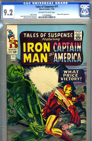 Tales of Suspense #71   CGC graded 9.2 - SOLD