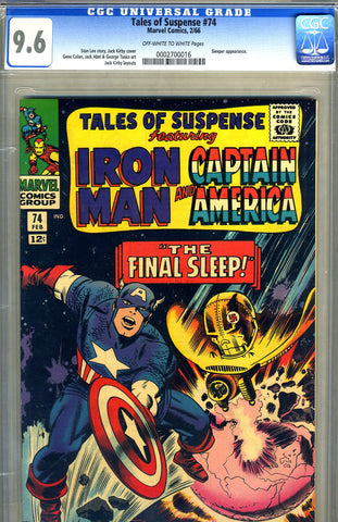 Tales of Suspense #74   CGC graded 9.6 - SOLD