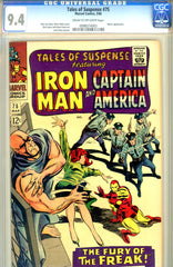 Tales of Suspense #75 CGC graded 9.4 first Sharon Carter