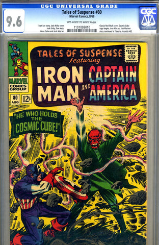 Tales of Suspense #80   CGC graded 9.6 - SOLD