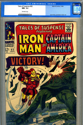 Tales of Suspense #83   CGC graded 9.2 - SOLD!