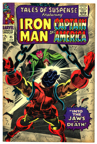 Tales of Suspense #85   VF/NEAR MINT   1967