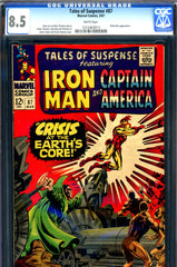 Tales of Suspense #87 CGC graded 8.5 white pages