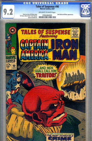 Tales of Suspense #90   CGC graded 9.2 - SOLD!