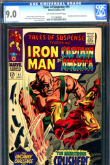Tales of Suspense #91 CGC graded 9.0 Red Skull story