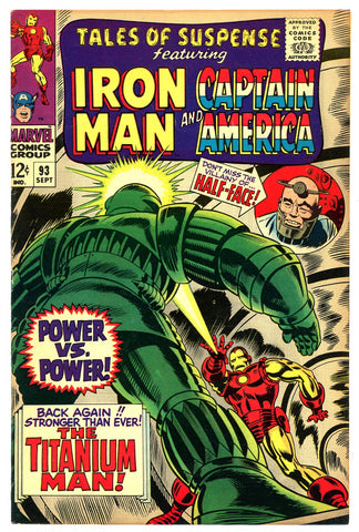 Tales of Suspense #93   VERY FINE+   1967