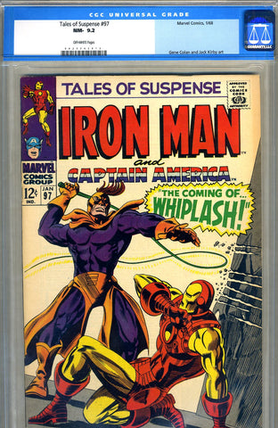 Tales of Suspense #97   CGC graded 9.2 - SOLD